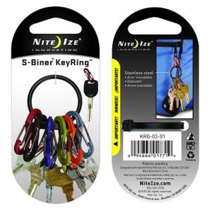 NITE IZE - Innovative Accessories - NI-KRG  - S-Biner Keyring