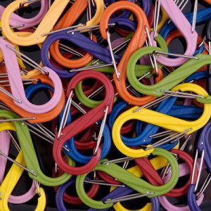 NITE IZE - Innovative Accessories - NI-SBP - S-Biner Plastic