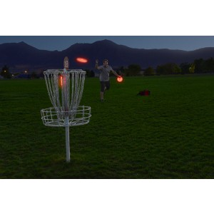 NITE IZE - Innovative Accessories - NI-FGBM-10-R6 - Flashflight Disc Golf LED Target Light
