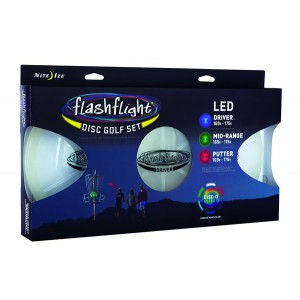NITE IZE - Innovative Accessories - NI-FGD - FlashFlight LED Disc Golf