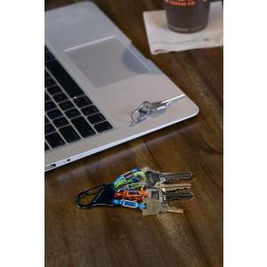 NITE IZE - Innovative Accessories - NI-KLKP-01-R3 - KeyRack Locker S-Biner Microlocks Polykarbonat