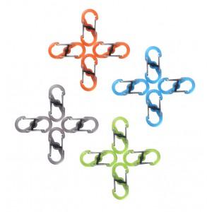NITE IZE - Innovative Accessories - NI-LSBPM - S-Biner MicroLock, Kunststoff