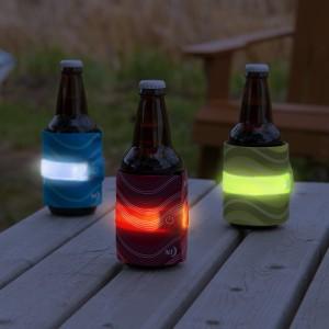 NITE IZE - Innovative Accessories - NI-SLDW-10-R3 - SlapLit LED Drink Wrap, red