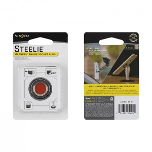 NITE IZE - Innovative Accessories - NI-STHDM-11-R7 - Steelie Magnetic Phone Socket Plus