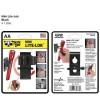 NITE IZE - Innovative Accessories - NI-NLL-07-AA - Gürtel- und Wand-Halter für AA Taschenlampen