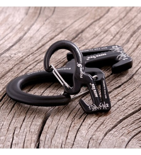 NITE IZE - Innovative Accessories - NI-C9S - Carabiner Figure 9, Klein