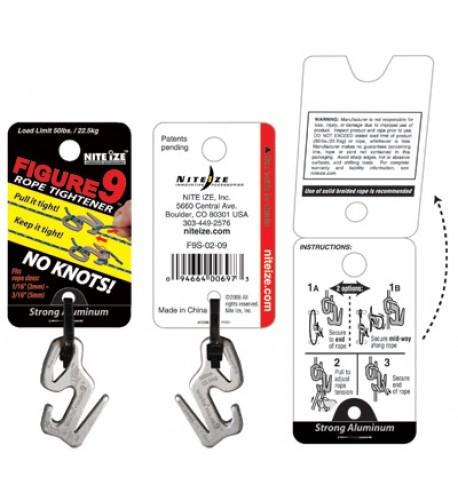 NITE IZE - Innovative Accessories - NI-F9S - Figure 9 Standard, Klein