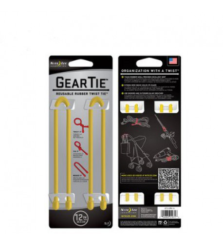 NITE IZE - Innovative Accessories - NI-GT12-2PK - Gear Tie 12''