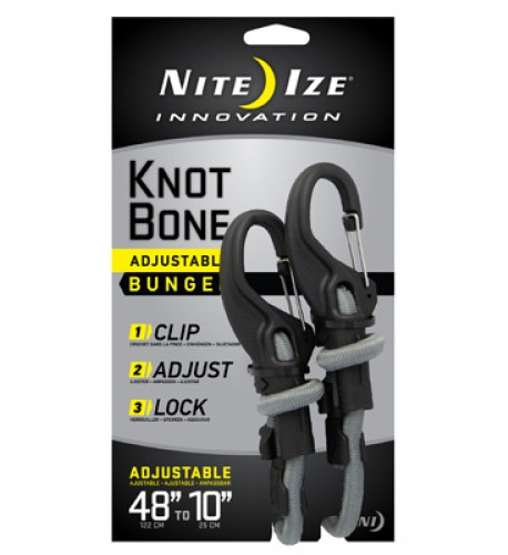 NITE IZE - Innovative Accessories - NI-KBB - KnotBone - Bungee
