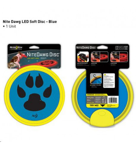 NITE IZE - Innovative Accessories - NI-NDD-03 - Nite Dawg LED Soft Disk