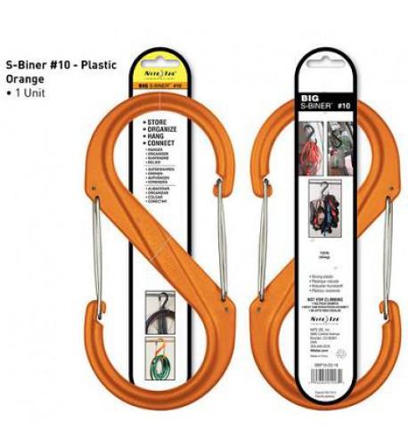 NITE IZE - Innovative Accessories - NI-SBP10 - S-Biner Kunststoff Größe 10