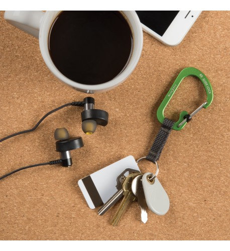 NITE IZE - Innovative Accessories - NI-CSLAW3 - SlideLock Key Ring Aluminum