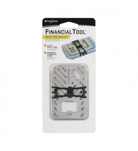 NITE IZE - Innovative Accessories - NI-FMT2 - FinancialTool Multi Tool Wallet