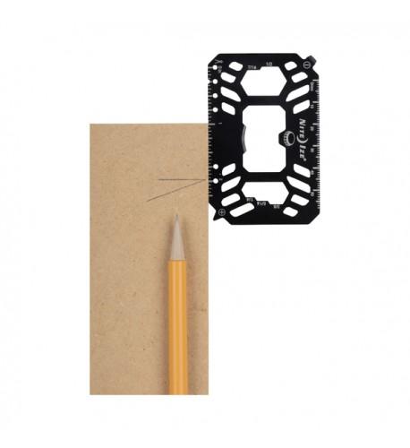 NITE IZE - Innovative Accessories - NI-FMTM - Financial Tool Multi Tool Card
