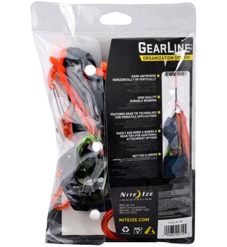 NITE IZE - Innovative Accessories - NI-GLN - GearLine Organization System