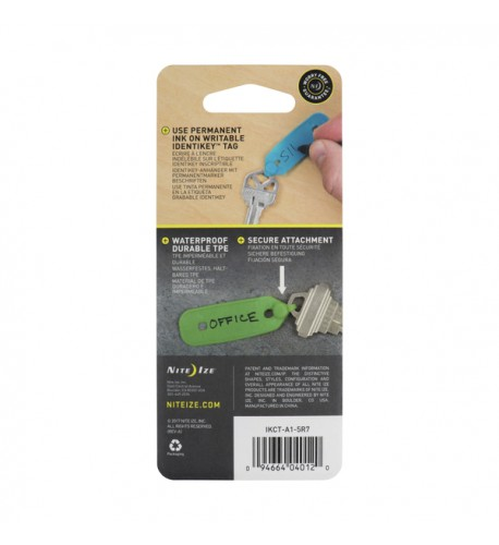 NITE IZE - Innovative Accessories - NI-IKCT-A1-5R7 - IdentiKey Tags