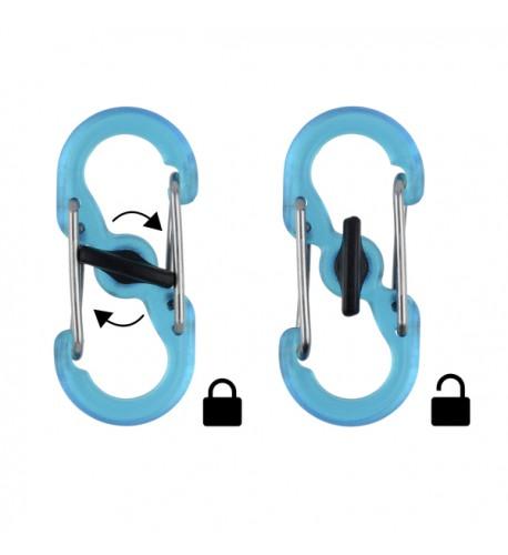 NITE IZE - Innovative Accessories - NI-KRGP-11-R3 - KeyRing Locker S-Biner
