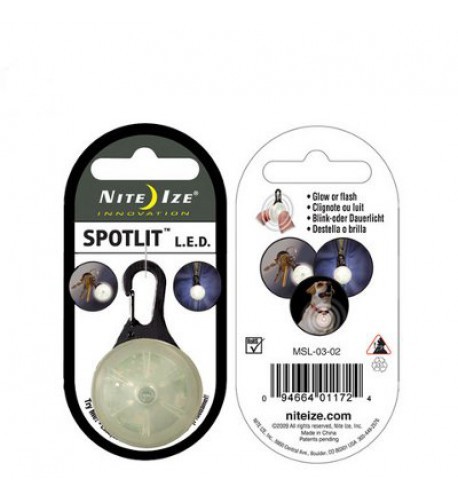 NITE IZE - Innovative Accessories - NI-SLG - SpotLit