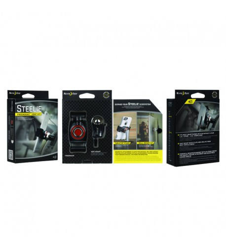NITE IZE - Innovative Accessories - NI-STFK-01-R8 - Steelie FreeMount Kit