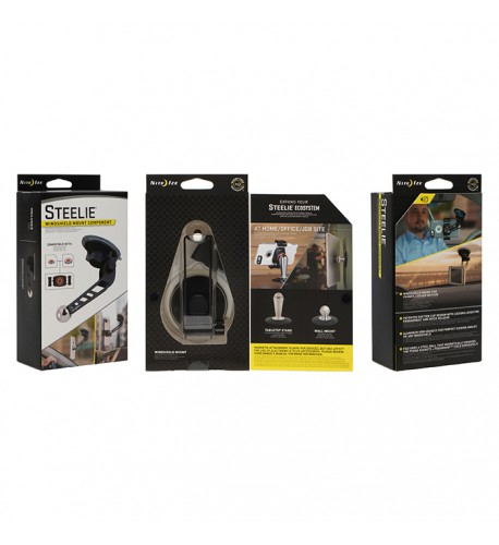 NITE IZE - Innovative Accessories - NI-STWS-01-R8 - Steelie Windshield Mount, Component